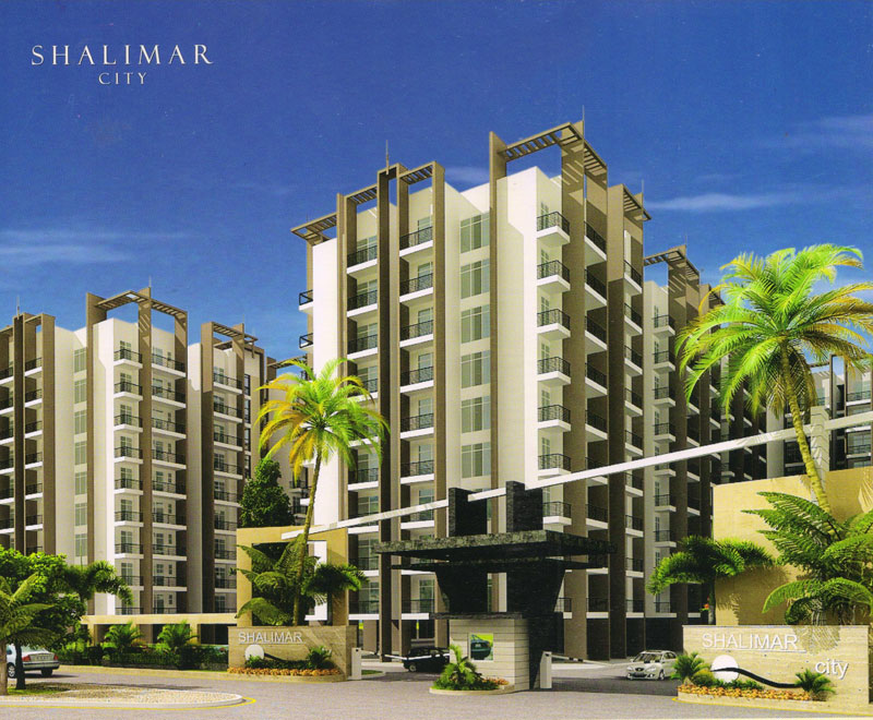 2BHK Resale Flat in Shalimar City